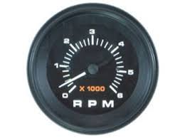 Mercury Mercruiser 79 895283q43 Tachometer Kit 6000 Rpm
