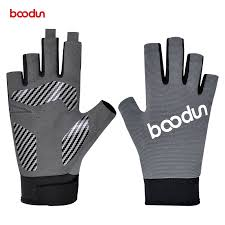 BOODUN <b>1 Pair Men Women</b> Fishing Gloves Breathable Anti Slip ...