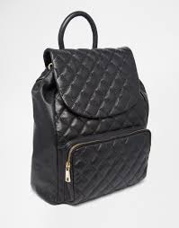Urbancode Quilted Leather Backpack in Black | Lyst & Gallery Adamdwight.com
