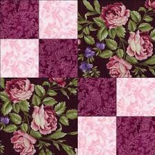 48 best Quilt Kits images on Pinterest | Colors, Cushions and ... & RJR Giselle Mauve Pink Burgundy Violet Floral Rose Pre Cut Quilt Kit Fabric  | eBay Adamdwight.com