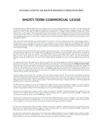 Short Term Rental Lease Agreement Contract Agreements Sample ...