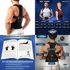 Details About Back Brace Posture Corrector Xl Best Fully Adjustable Support Brace Improves