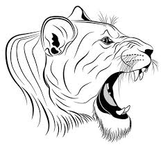 Small Picture Roaring Lion Head Coloring Coloring Pages