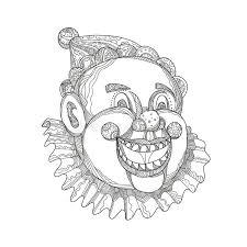 Clown Vintage Stock Illustrations 2952 Clown Vintage Stock
