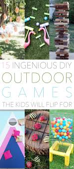 homemade outdoor games for kids. This Has To Be One Of My Favorite Outdoor Games\u2026I Feel As Though It Is A Page Alice In Wonderland Coming Life! Kids All Ages \u2026from 1 189 Homemade Games For