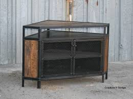 Corner Tv Cabinet With Hutch Entertainment Center Etsy