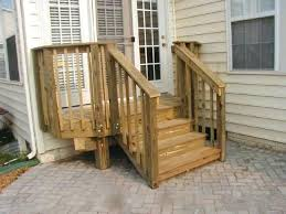 outdoor wood patio ideas. Ingenious Inspiration Wood Patio Steps Stairs Ideas For Front Door Outdoor Wooden