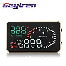 Buy Geyiren X6 HUD Head Up Display 3'' Screen OBD II ... - Amazon.in
