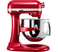 sentinel kitchenaid artisan 5ksm7580xber stand mixer empire red currys