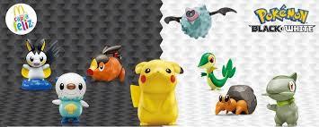 Mcdonalds Happy Meal Toys June 2012 Pokemon Kids Time