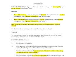 Sample Construction Loan Agreement Equipment Loan Agreement Template Uk Maintenance Log Outline 19