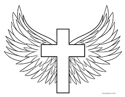 Free Cross Coloring Pages Entucorg