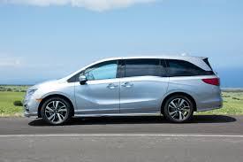 2018 Honda Odyssey Silver Profile