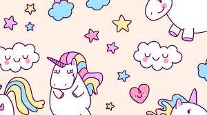 Desktop Wallpaper Cute Unicorn - 2021 ...