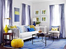 Amazing Blue And Yellow Living Room Designs Sitting