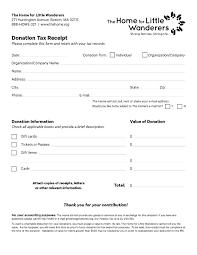 charitable contribution receipt letter charitable donation receipt template onlineemily info
