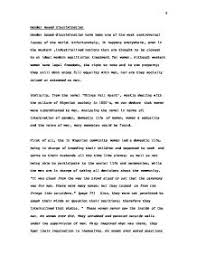 a comperative essay about the gender issues in things fall apart  page 1 zoom in
