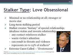 Types Of Stalkers And Stalking Patterns