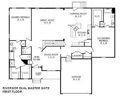 Home Plans With Dual Master BedroomsDual Master Suite Home Plans