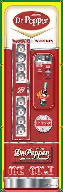 Dr Pepper Vending Machine Inspiration DR PEPPER SODA POP OLD VINTAGE VENDO VENDING MACHINE STYLE BANNER 48