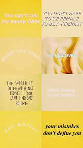Aesthetic Yellow Wallpapers - Wallpaper ...