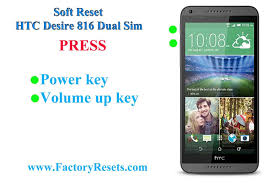 How To Hard Reset HTC Desire 816 Dual Sim