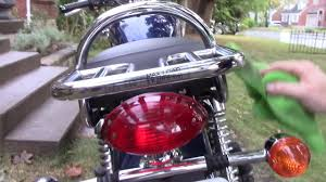 2009 triumph bonneville chrome luggage rack install
