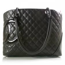 Fashionphile - CHANEL Cambon Ligne Quilted Large Tote Black - Polyvore & Fashionphile - CHANEL Cambon Ligne Quilted Large Tote Black Adamdwight.com