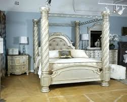 California King Canopy Bed King Poster Rails California King Size ...