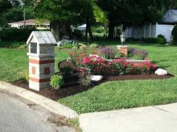 mailbox landscaping with culvert. Simple Culvert Landscape Ideas Around Mailbox Landscaping Oh Design And  Installation Lawn   In Mailbox Landscaping With Culvert