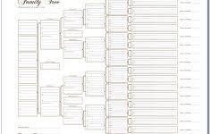 Genealogy Family Tree Forms Freey Tree Genealogy Template Templates Excel Format Irish Upaspain