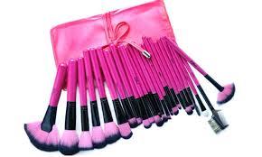 royal red 24 piece makeup brush set mugeek vidalondon