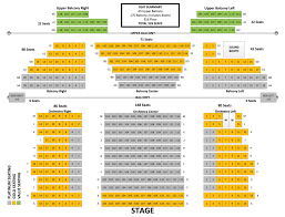 Venue Map Seating Chart 2016 Springfield Little Theatre