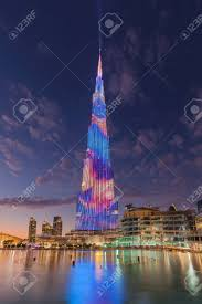 Make Your Own Laser Light Show Laser And Light Show At The Burj Khalifa Highest Building On