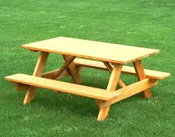 picnic bench home depot living room cypress kids table pine ft junior the round wood tabl round wood picnic table