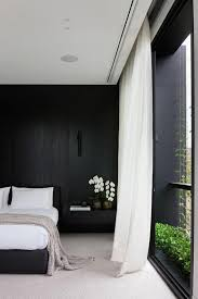 The wall can be painted, covered with wallpaper, wood or even stone, the latter two will bring in texture to the space. Black Accent Walls Dark Colors For The Bedroom My Wall Decor Ideas
