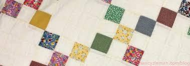 How to sew 9-patch quilt blocks. 9-patch quilt variations | Nancy ... & How to make a 9-patch quilt block, Sewing With Nancy Zieman, Change Adamdwight.com