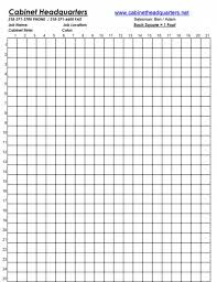 to scale graph paper kitchen design graph paper how to draw a floor plan to scale 7