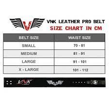 Vnk Leather Pro Weightlifting Belt Size S