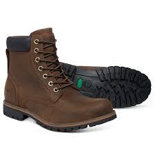 image of timberland earthkeepers rugged 6 inch waterproof walking boots men s dark brown