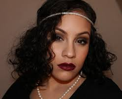 great gatsby 1920s inspired makeup hair