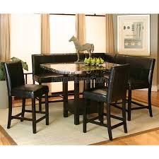 ham counter height corner dining nook set