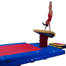 Vault gymnastics Silhouette 20cm Competition Landing Mat Mancino Mats