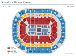 Verizon Theater Seating Chart Seating Maps American Airlines Center