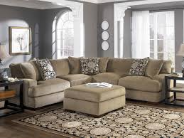 U Shaped Couch Living Room Furniture Furniture Pretty Collection Of Microfiber Sectional Sofa