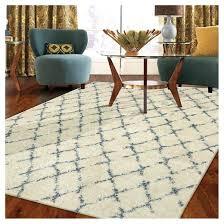 threshold area rug target gray trellis