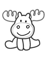 If You Give A Moose Muffin Coloring Page Pages Preschool