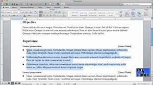 making a resume in word. how to create a resume using microsoft word ...