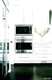 24 wall oven microwave combo inch double with stainless