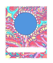 Printable Customizable Binder Covers Free Cover Templates A Flower